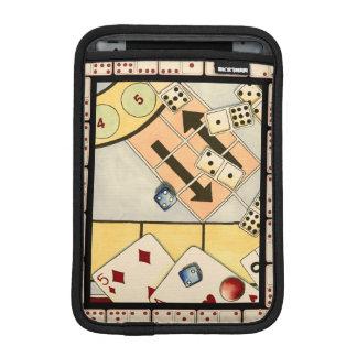 Jumbled Assortment of Games of Chance iPad Mini Sleeves