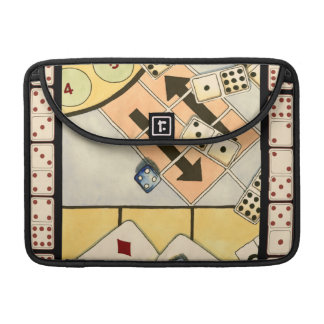Jumbled Assortment of Games of Chance MacBook Pro Sleeve