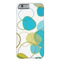 Jumbled Blue & Green iPhone case