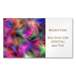 jumbled fantasy 1 magnetic business card