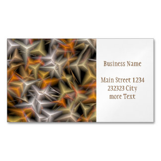 jumbled fantasy 5 magnetic business card