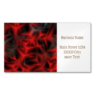 jumbled fantasy 8 business card magnet