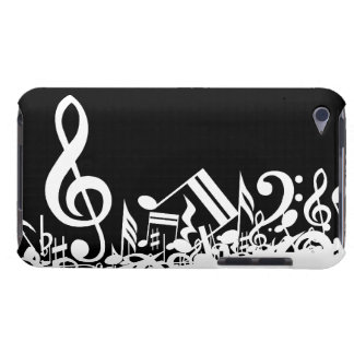 Jumbled Musical Notes iPod Touch Cover