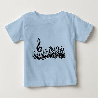 Jumbled Musical Notes T-Shirt