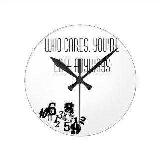 jumbled time round clock