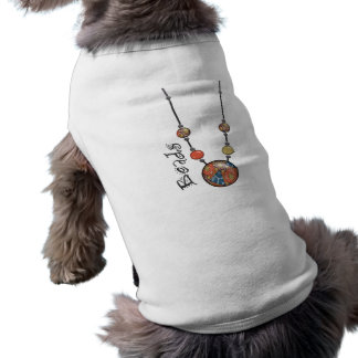 Jumbo Bead Necklace Multicolor 11 Pet Clothing
