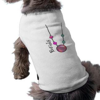 Jumbo Bead Necklace Multicolor 1 Dog Clothing