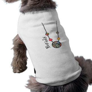Jumbo Bead Necklace Multicolor 2 Pet Clothes