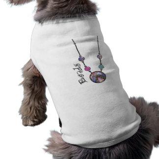 Jumbo Bead Necklace Multicolor 9 Doggie Shirt