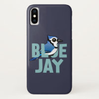 Jumbo Blue Jay Case-Mate Barely There iPhone X Case