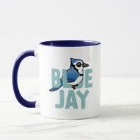 Jumbo Blue Jay Combo Mug