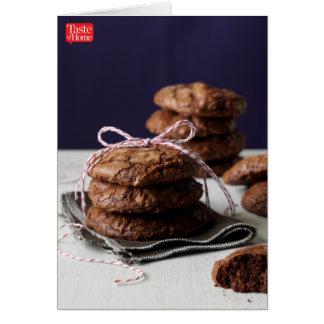 Jumbo Brownie Cookies Card