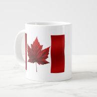 Jumbo Canada Coffee Cup / Mug Canada Souvenir Cup Extra Large Mugs