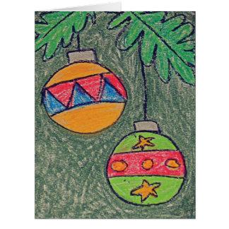 Jumbo Christmas Coloring Christmas Card