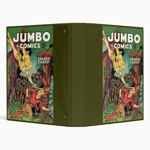 Jumbo Comics Binder