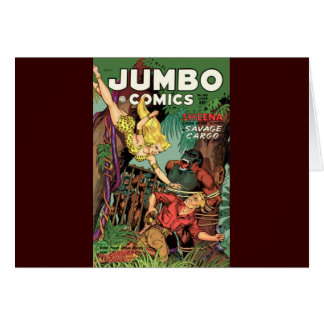Jumbo Comics No 160 Card