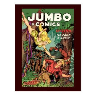 Jumbo Comics No 160 Postcard