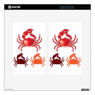 Jumbo Crab vector Kindle Fire Skin