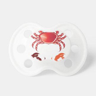 Jumbo Crab vector Pacifier