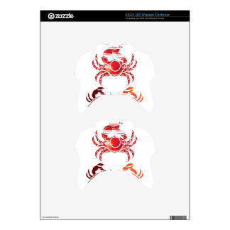Jumbo Crab vector Xbox 360 Controller Decal