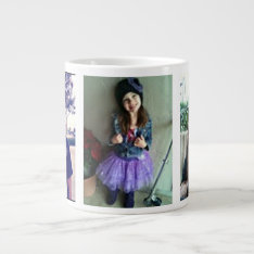 Jumbo Custom Photo Mug at Zazzle