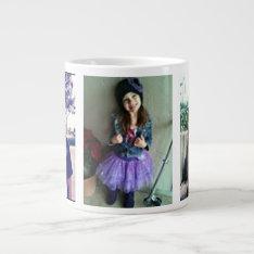 Jumbo Custom Photo Mug at Zazzle