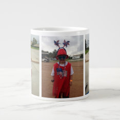 Jumbo Custom Photo Mug Jumbo Mug - Customized at Zazzle