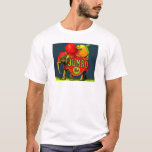Jumbo Elephant Vintage Fruit Crate Label Art T-Shirt