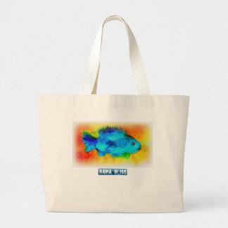 Jumbo Fish Tote Bag Bama Bliss