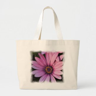 Jumbo Flower Tote Bags