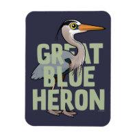 Jumbo Great Blue Heron 3