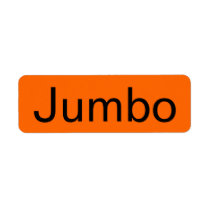 Jumbo Grocery Orange Tag
