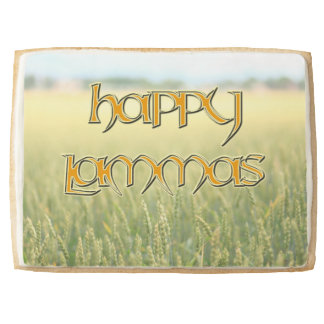 Jumbo Happy Lammas Shortbread Cookie