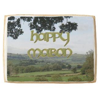 Jumbo Happy Mabon Shortbread Cookie