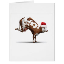 Jumbo Holiday Bovine Nirvana Christmas Card