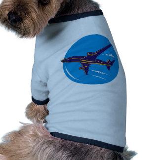 jumbo jet plane airplane aircraft pet shirt