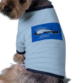 jumbo jet plane airplane aircraft flying flight pet clothes
