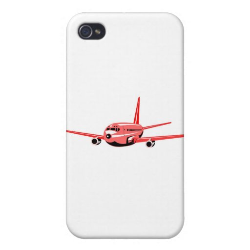 jumbo jet plane airplane aircraft flying flight cases for iPhone 4