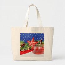 Jumbo jet shopping bag Christmas