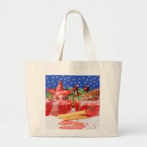 Jumbo jet shopping bag glad Christmas