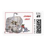 Jumbo Joy Elephant Mouse Postage Stamp
