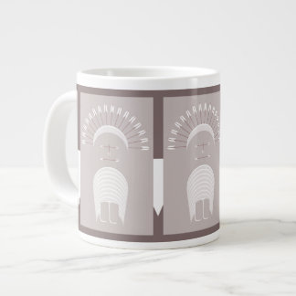 Jumbo Mug ARROW HEADDRESS