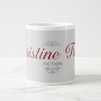 Jumbo Mug, Christine Trent Fiction Large Coffee Mug
