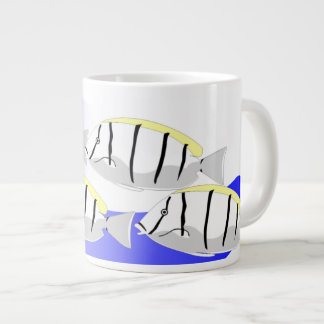 Jumbo Mug Decorated with Convict Surgeon Fish