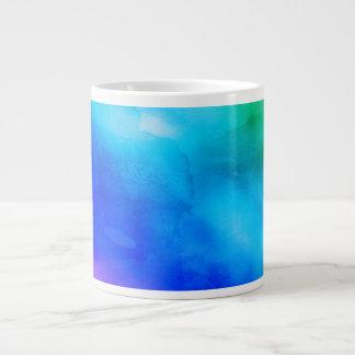 Jumbo Mug - Watercolor Rainbow 20 Oz Large Ceramic Coffee Mug