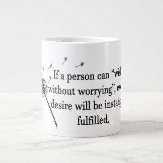 Jumbo Mug Wish Without Worry