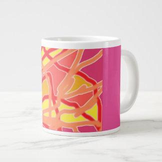 Jumbo Mug with my Chaos Form 2 Purple Design