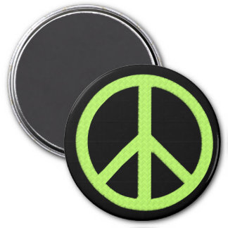 Jumbo Peace Magnet (Green)