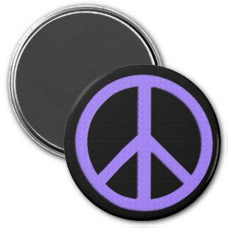 Jumbo Peace Magnet (Purple)
