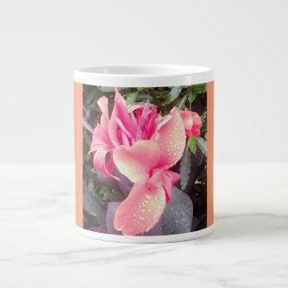 Jumbo Pink Canna Lily Photo Mug